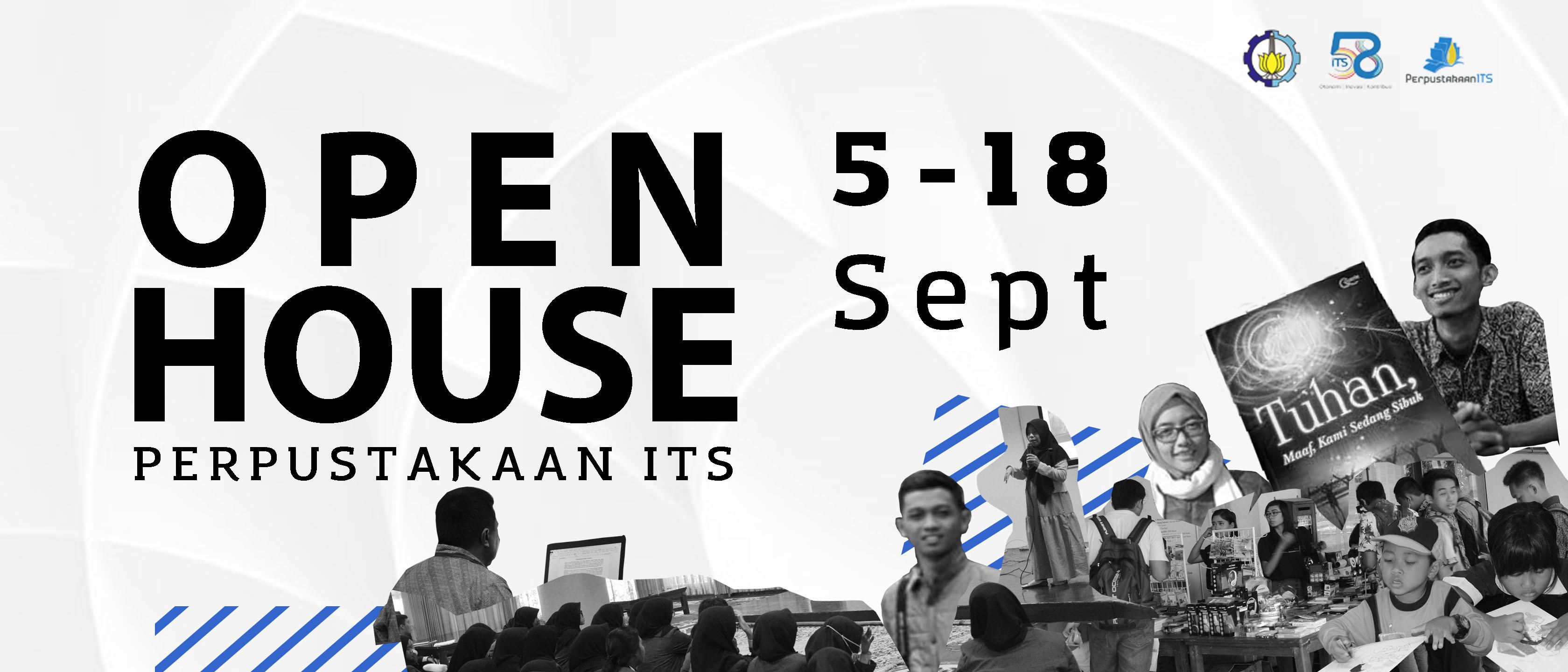 Open House Perpustakaan ITS
