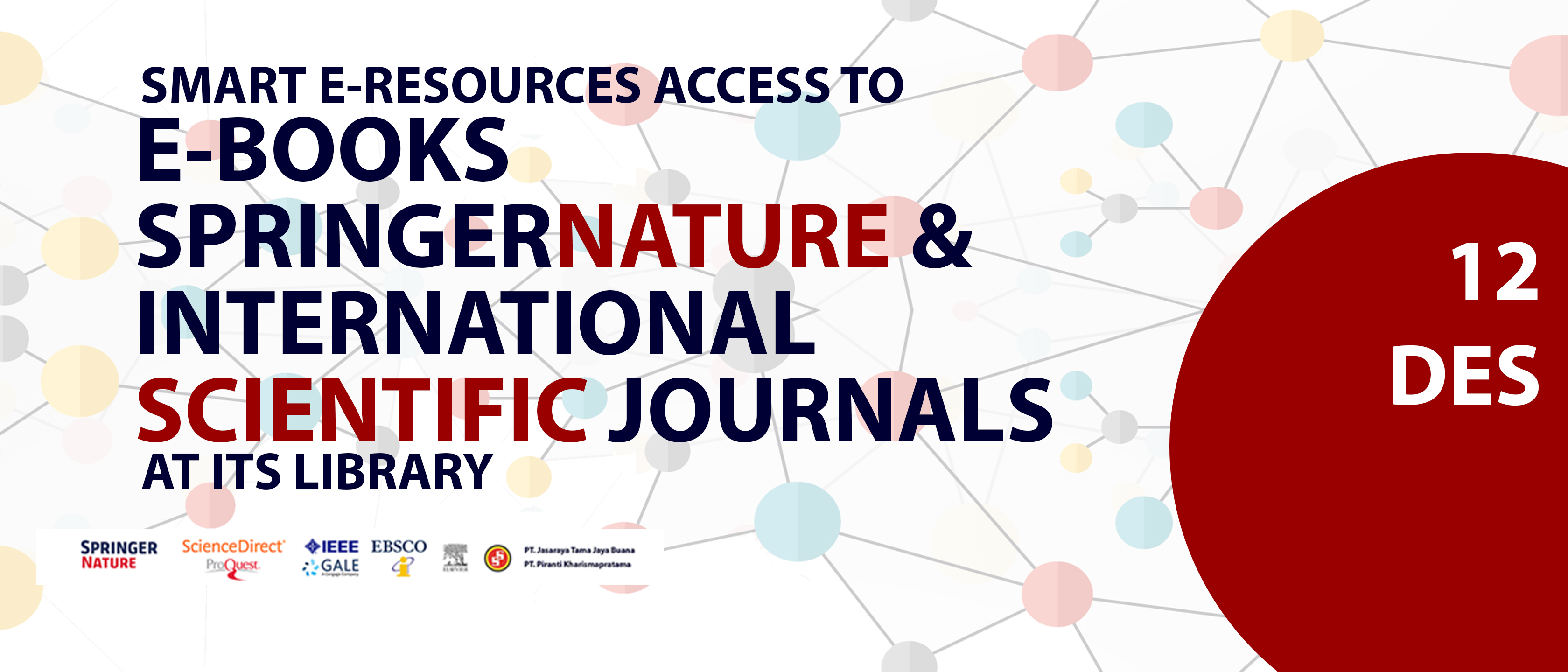 Smart Eresources Access to Ebook Springernature & International Scientific Journals at ITS Library