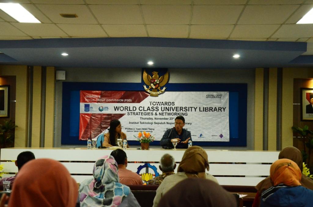 Perpustakaan ITS bersama  ISIPII gelar Seminar Nasional dan FGD