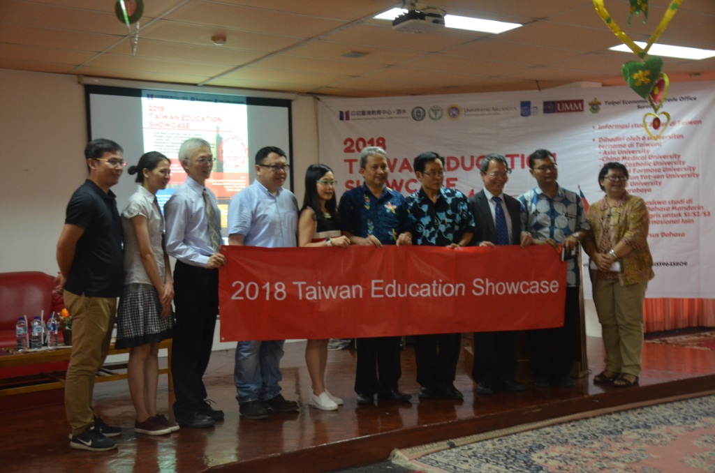 Taiwan Education Showcase 2018 ramaikan Wifizone Perpustakaan  ITS