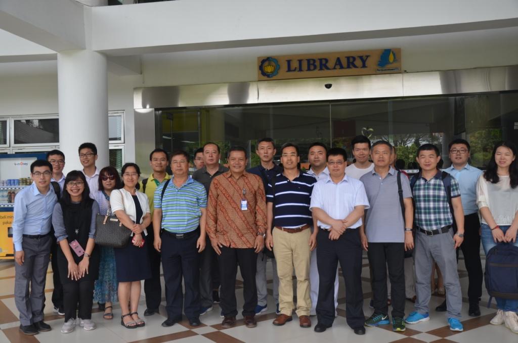 Dalian Maritime University  China  kunjungi Perpustakaan ITS