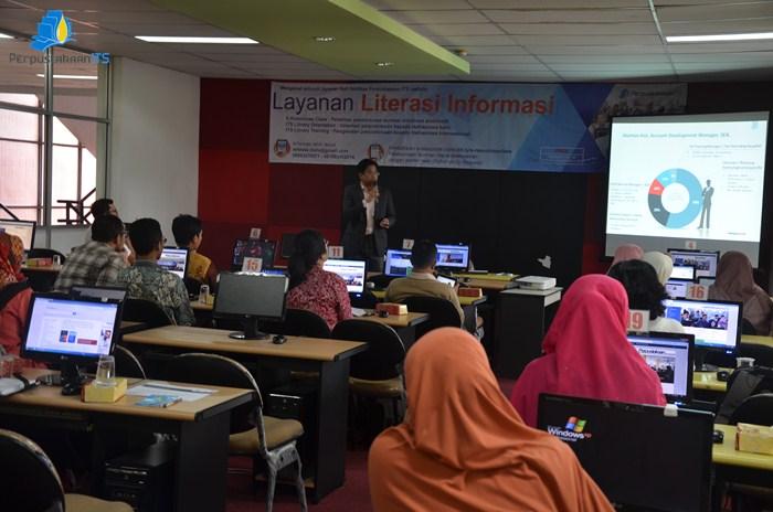 Sosialisasi E-Journal dan Pelatihan Komunikasi Ilmiah Bersama Springer Nature