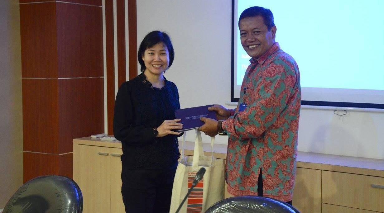 Penandatanganan MoU antara ITS Surabaya dan SUT Thailand