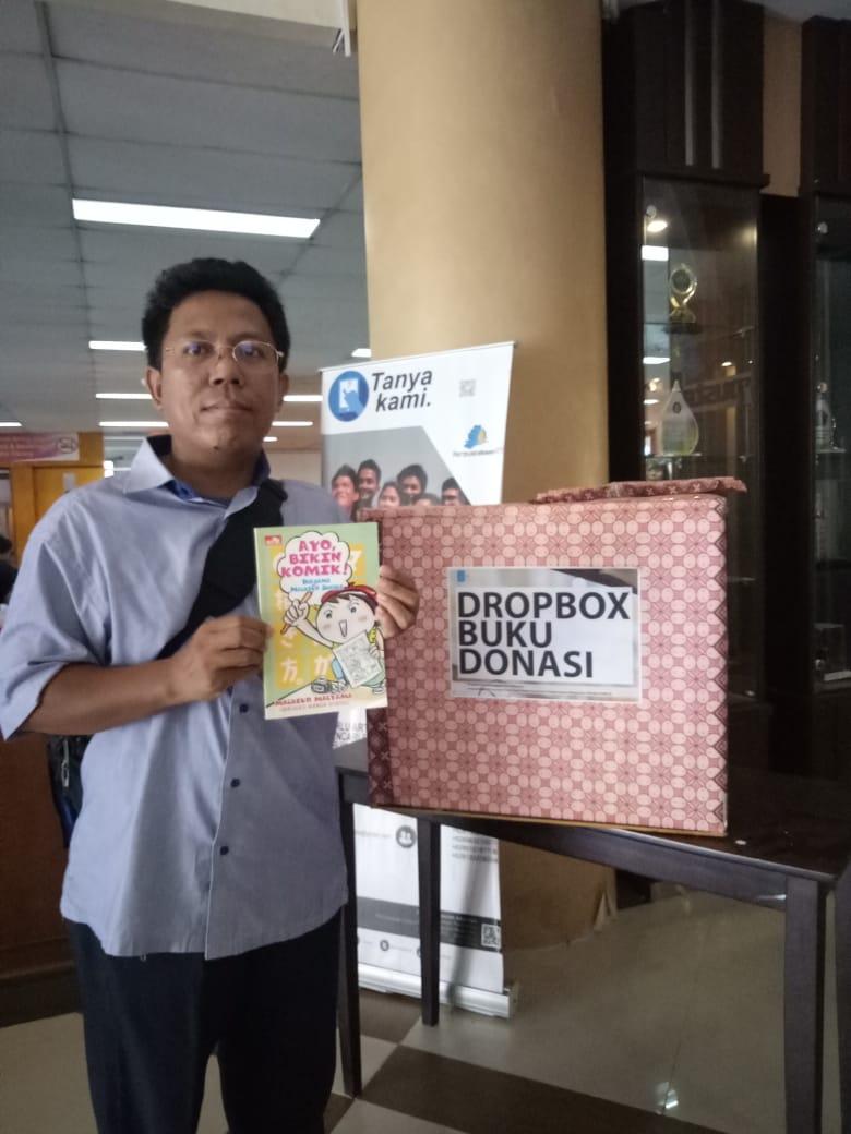 Yuk Donasikan buku di Perpus ITS!
