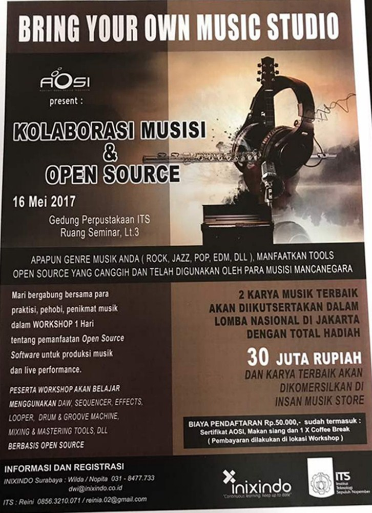 Workshop Kolaborasi Musisi & Open Source