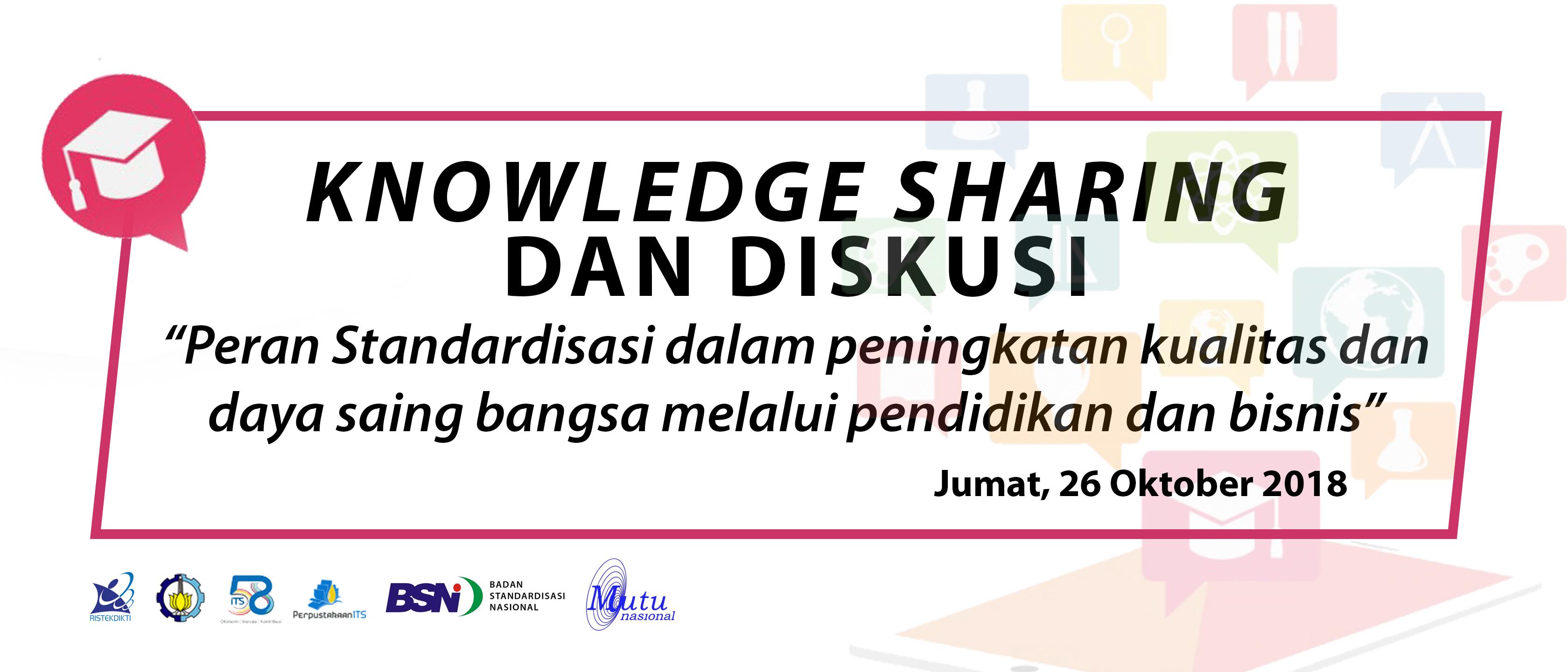 Materi Knowledge Sharing & Diskusi